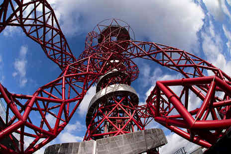 The ArcelorMittal Orbit Skyline Views - Family Visit to The Slide with Cake and Hot Drinks - Save 0%
