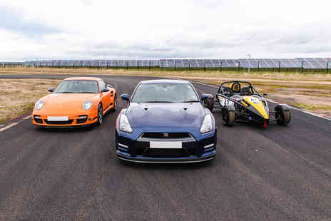 Virgin Experience Days - Triple Supercar Blast, Weekday - Save 34%