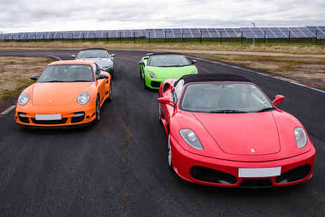 Virgin Experience Days - Four Supercar Blast, Weekday - Save 38%