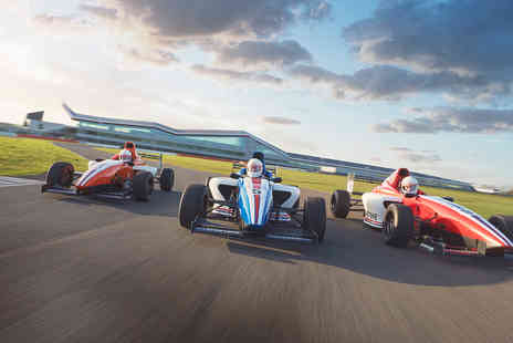 Virgin Experience Days - Silverstone Thrill Choice and Three Course Meal with Wine - Save 0%