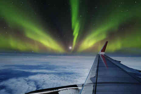 Omega Holidays - Northern Lights Sightseeing Flight for Two - Save 0%