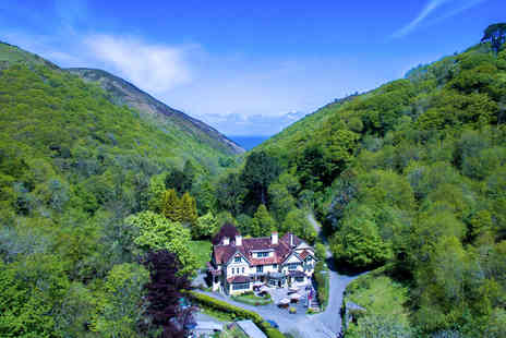 The Hunters Inn - One Night Exmoor National Park Break for Two - Save 29%