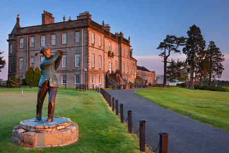 Dalmahoy Hotel & Country Club - Two Night Scottish Break with Dinner for Two - Save 16%