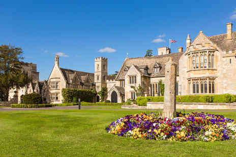 Ellenborough Park - One Night Luxury Cotswolds Break with Dinner for Two - Save 0%