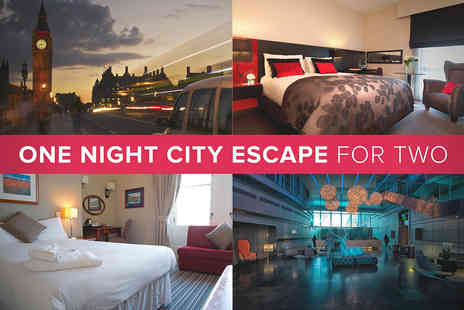 City Hotel - One Night City Hotel Escape for Two - Save 20%
