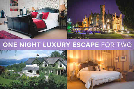 Luxury Hotel - One Night Escape for Two - Save 20%