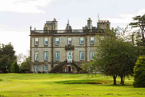Dalmahoy Hotel & Country Club - One Night Scottish Break with Dinner for Two - Save 0%