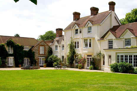 Esseborne Manor - Two Night Country Hotel Break with Seven Course Tasting Dinner for Two - Save 23%