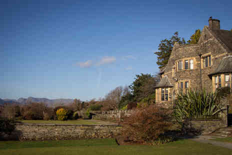 Cragwood Country House Hotel - One Night Lake District Break for Two - Save 0%