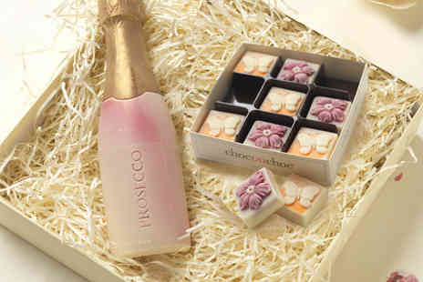 Virgin Experience Days - Chocolate Prosecco with Chocolate Flowers and Butterflies - Save 0%