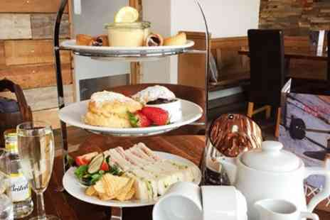 Pentire Hotel - Afternoon tea for 2 with G&T or prosecco - Save 36%