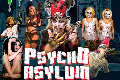 The Circus of Horrors - Grandstand entry ticket to Circus of Horrors Psycho Asylum choose from three locations - Save 45%