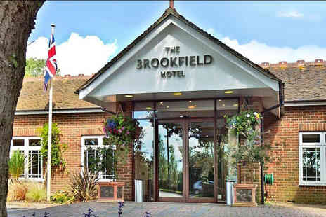Brookfield Hotel - Overnight Hampshire stay for two with a two course dinner, glass of Prosecco, breakfast and late check out or a two night stay - Save 46%