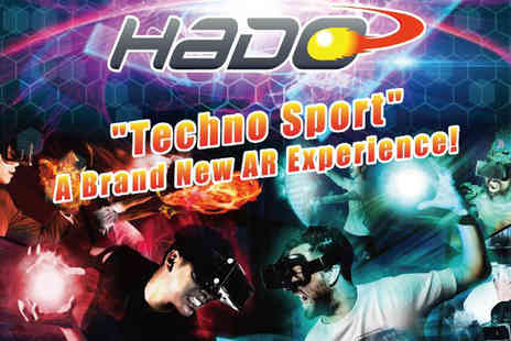 Grange Live Gaming - 30 minute session of HADO Techno Sport gaming in an augmented reality arena - Save 51%