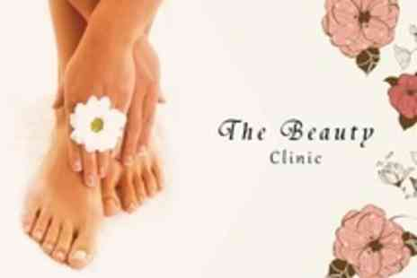 The Beauty Clinic - Luxury Manicure and Deluxe Pedicure - Save 65%