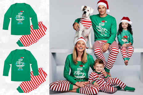 Blufish - His & Hers matching Christmas pyjamas - Save 0%