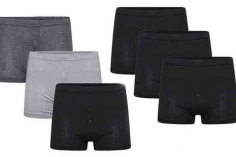 Groupon Goods Global GmbH - Six Pack of Mens Jersey Boxers in a Choice of Colour - Save 0%