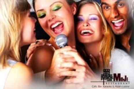 Moji restaurant - Three Hours of Karaoke For Six People - Save 78%