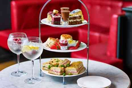 Cafe Rouge - Afternoon tea with G&T for 2 - Save 49%