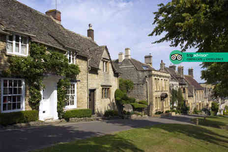 The Bull At Burford - Two night stay for two people with breakfast and £50 dining credit - Save 32%