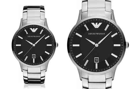 Brand Arena - Mens Emporio Armani watch choose from four designs - Save 66%