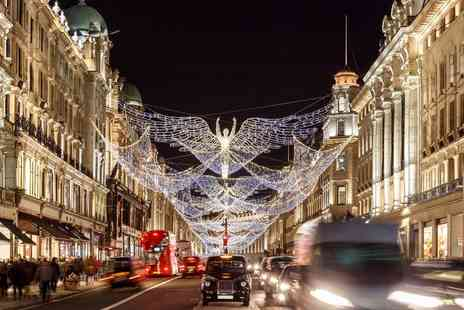 Abbey Tours - London Christmas lights bus tour ticket with a delicious mince pie from Abbey Tours get into the festive spirit - Save 60%