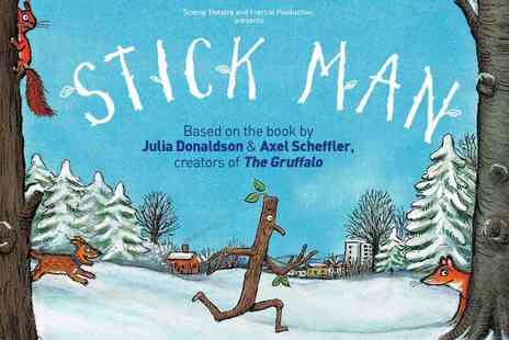 Ingresso - Stick Man at the Leicester Square Theatre, The Award Winning Family Favourite - Save 48%