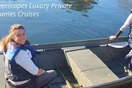 Riverscapes - Thames Self Drive Boat Hire Go On A Sightseeing Adventure - Save 20%