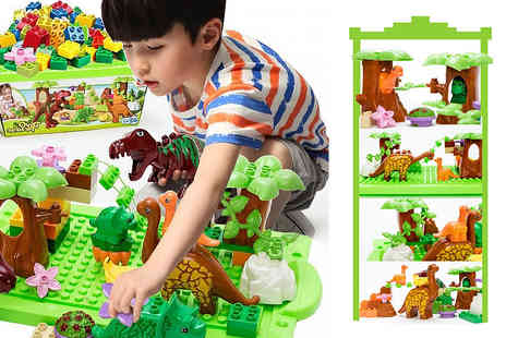 Wow What Who - Dinosaur building blocks toy - Save 70%