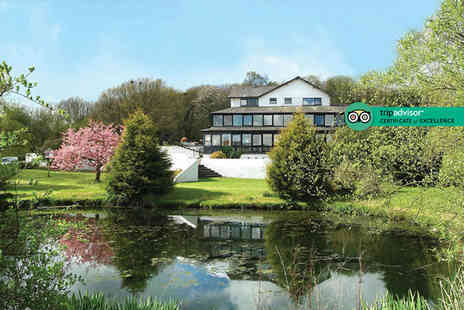 Damson Dene Hotel - Two night Lake District break for two people with breakfast, three course dinner on first night, cream tea on arrival and spa access - Save 39%