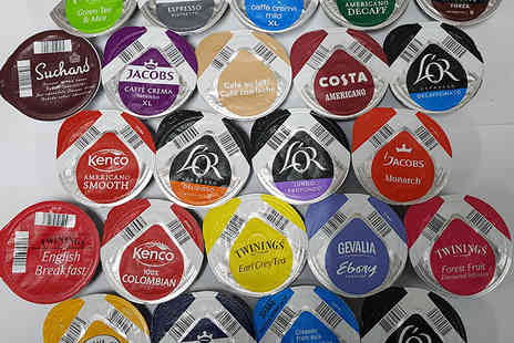 Euro Coffee Pods - Pack of 23 Tassimo Tdiscs in assorted flavours - Save 77%