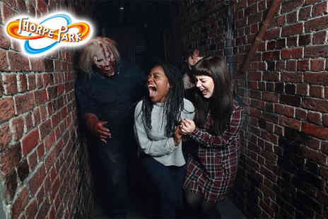 Thorpe Park Resort - Entry to Thorpe Parks Fright Night with all day park entry including rides and scare mazes - Save 43%