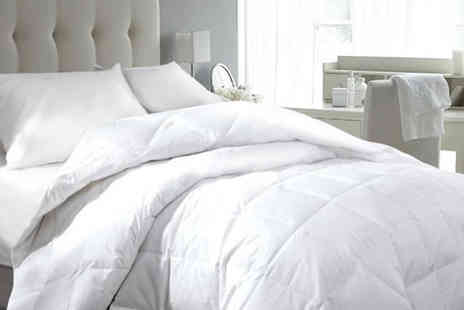 Groundlevel - Hotel quality goose and down duvet Choose from four sizes - Save 70%
