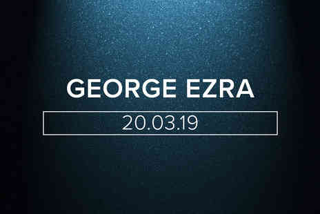 The O2 - Tapas Dining with Drinks and Tickets for George Ezra for Two - Save 0%