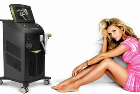 Boutique Spa - Six Sessions of Soprano ICE Platinum Laser Hair Removal on Choice of Area - Save 84%