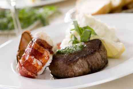 Ambrosia Restaurant And Cocktail Bar - Steak, Half Lobster and Prosecco for One or Two - Save 52%