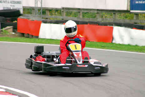 TeamSport - Go Karting in Edmonton for One - Save 0%