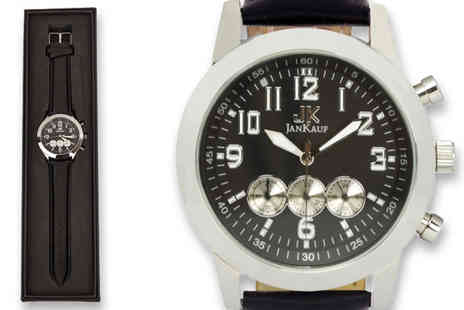 Jan Kauf - Jan Kauf JK1035 mens watch - Save 87%