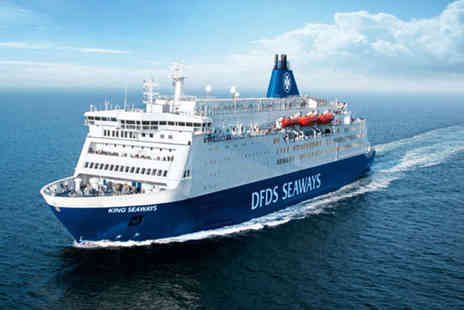 DFDS - Two night Amsterdam mini cruise for two or four people with breakfast one way - Save 0%