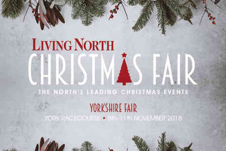 Living North - Two tickets to Living North Christmas Fair on Thursday 8th to Sunday 11th November - Save 33%