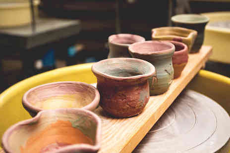 Midas Touch Crafts - Two hour pottery workshop for one or two - Save 81%