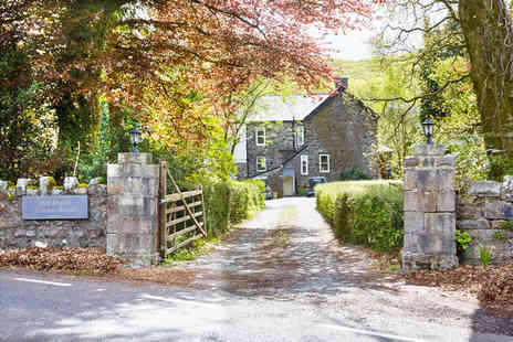Afon Rhaiadr Country House - Two night luxury boutique break for two including breakfast - Save 48%