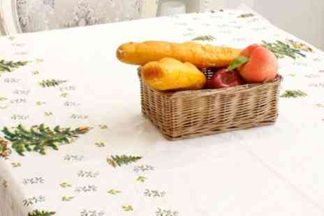 Groupon Goods Global GmbH - Christmas Tablecloth in Choice of Design - Save 84%
