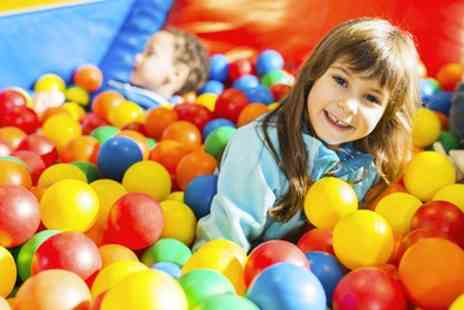 The Playmill - Soft Play Entry for Two or Four Kids with Up to Four Hot Drinks for Adults - Save 50%