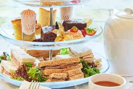 Wrightington Country Club Hotel - Afternoon tea with bubbly & spa access for 2 - Save 57%