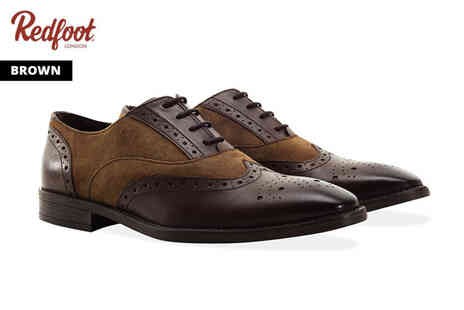 Redfoot Shoes - Pair of mens Gatsby Brogues - Save 84%