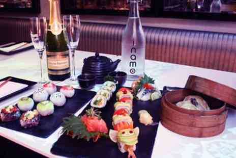 inamo - Pan Asian Afternoon Tea with Bubbles for Two - Save 50%
