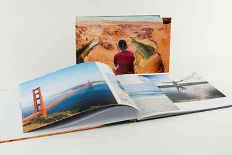Colorland - One or Two Personalised Hardcover Photobooks with Up to 140 Pages - Save 84%