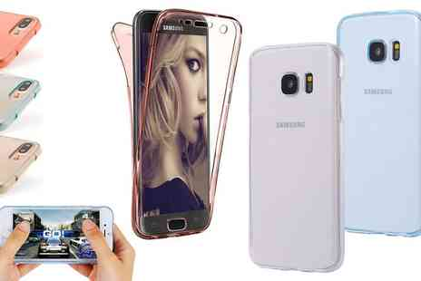 Groupon Goods Global GmbH - Protective TPU Case for Samsung Galaxy or iPhone - Save 0%