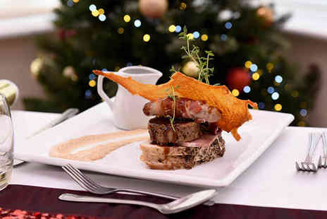 The Wroxeter Hotel - Festive three course lunch for two - Save 44%